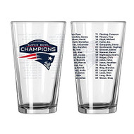 New England Patriots Super Bowl LI Champions Official 16 oz. Roster Pint Glass