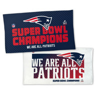 "New England Patriots WinCraft Super Bowl LI Champions 22"" x 42"" On-Field Celebration Locker Room Towel"