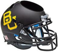 NCAA Baylor Bears Matte Black Mini Helmet Desk Caddy by Schutt