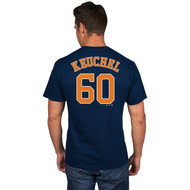 Dallas Keuchel Houston Astros #60 MLB Men's Player Name & Number T-shirt