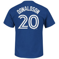 Josh Donaldson Toronto Blue Jays #20 MLB Men's Name & Number Player T-shirt
