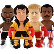 """Bleacher Creatures Rocky 40th Anniversary 10"""" Plush Figure Toy Figures 4-Set Bundle"""