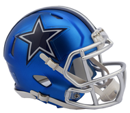 Dallas Cowboys Riddell Speed Mini Helmet - Blaze Alternate