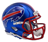 Buffalo Bills Riddell Speed Mini Helmet - Blaze Alternate