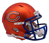 Chicago Bears Riddell Speed Mini Helmet - Blaze Alternate