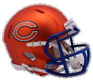 Chicago Bears Riddell Speed Mini Helmet - Blaze Alternate