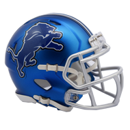 Detroit Lions Riddell Speed Mini Helmet - Blaze Alternate