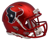 Houston Texans Riddell Speed Mini Helmet - Blaze Alternate