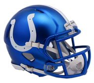 Indianapolis Colts Riddell Speed Mini Helmet - Blaze Alternate