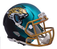 Jacksonville Jaguars Riddell Speed Mini Helmet - Blaze Alternate