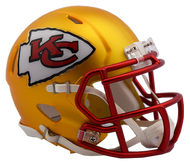 Kansas City Chiefs Riddell Speed Mini Helmet - Blaze Alternate