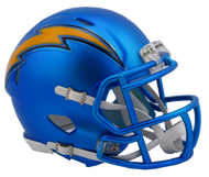 Los Angeles Chargers Riddell Speed Mini Helmet - Blaze Alternate