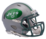 New York Jets Riddell Speed Mini Helmet - Blaze Alternate