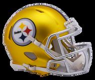 Pittsburgh Steelers Riddell Speed Mini Helmet - Blaze Alternate