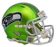 Seattle Seahawks Riddell Speed Mini Helmet - Blaze Alternate