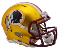 Washington Redskins Riddell Speed Mini Helmet - Blaze Alternate