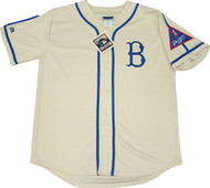 Brooklyn Dodgers Throwback Majestic MLB Men's Official Jersey