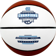North Carolina Tar Heels 2017 NCAA National Champions Official Full Size Autograph Basketball