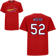 Michael Wacha St. Louis Cardinals #52 MLB Youth Red Player Name & Number T-shirt