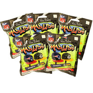 Mad Lids - NFL Series 1 - BLIND PACKS (5 Pack Lot) by Party Animal Teenymates