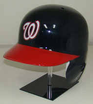 Washigton Nationals Rawlings Navy/Red LEC Full Size Baseball Batting Helmet