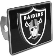 OAKLAND RAIDERS NFL TRUCK TRAILER HITCH COVER
