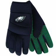 NFL Philadelphia Eagles Black Deluxe Utility Work Gloves