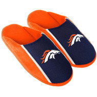 Denver Broncos NFL Adult Mens Sizes Jersey Slide Slippers