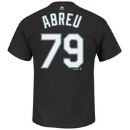 Jose Abreu Chicago White Sox MLB Majestic Player Black T-Shirt