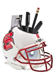 North Carolina State Wolfpack Mini Helmet Desk Caddy by Schutt