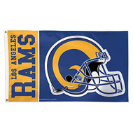 Los Angeles Rams Classic Retro Logo 3' X 5' Deluxe Flag