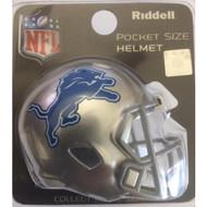 Detroit Lions New 2017 Revolution Mini Pocket Pro Helmet