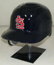 Saint Louis Cardinals Rawlings Coolflo Road Navy REC Full Size Baseball Batting Helmet