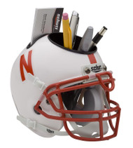 Nebraska Cornhuskers Mini Helmet Desk Caddy by Schutt