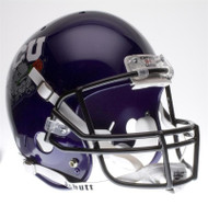 TCU Texas Christian Horned Frogs 2010 Rose Bowl Champions Special Schutt Full Size Replica Helmet