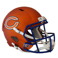 Chicago Bears Riddell Replica Full Size Helmet - Blaze Alternate