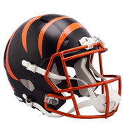 Cincinnati Bengals Riddell Replica Full Size Helmet - Blaze Alternate
