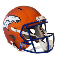 Denver Broncos Riddell Replica Full Size Helmet - Blaze Alternate