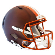 Cleveland Browns Riddell Replica Full Size Helmet - Blaze Alternate