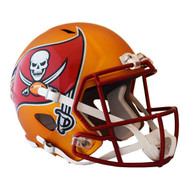 Tampa Bay Buccaneers Riddell Replica Full Size Helmet - Blaze Alternate