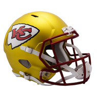 Kansas City Chiefs Riddell Replica Full Size Helmet - Blaze Alternate