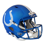 Indianapolis Colts Riddell Replica Full Size Helmet - Blaze Alternate