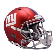 New York Giants Riddell Replica Full Size Helmet - Blaze Alternate