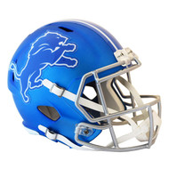 Detroit Lions Riddell Replica Full Size Helmet - Blaze Alternate