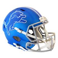 Detroit Lions Riddell Replica Full Size Helmet - Blaze Alternate