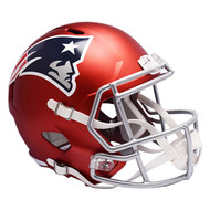 New England Patriots Riddell Replica Full Size Helmet - Blaze Alternate