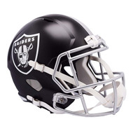 Oakland Raiders Riddell Replica Full Size Helmet - Blaze Alternate
