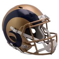 Los Angeles Rams Riddell Replica Full Size Helmet - Blaze Alternate