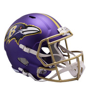Baltimore Ravens Riddell Replica Full Size Helmet - Blaze Alternate