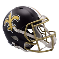 New Orleans Saints Riddell Replica Full Size Helmet - Blaze Alternate